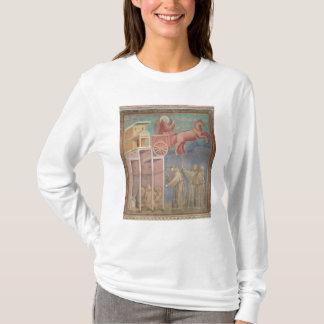 T-shirt St Francis apparaît à ses compagnons