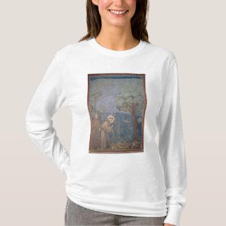T-shirt St Francis prêchant aux oiseaux, 1297-99