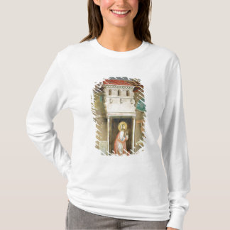 T-shirt St Francis priant dans l'église de San