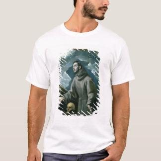 T-shirt St Francis recevant les stigmates (huile sur la