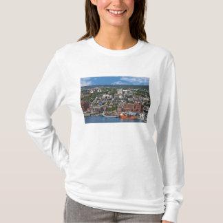 T-shirt St John, Terre-Neuve, Canada, le littoral