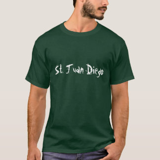 T-shirt St Juan Diego - customisé