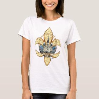 T-shirt St Louis Fleur de Lis