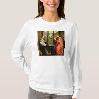 T-shirt St Luke dessinant un portrait de la Vierge