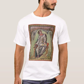 T-shirt St Mark à son bureau