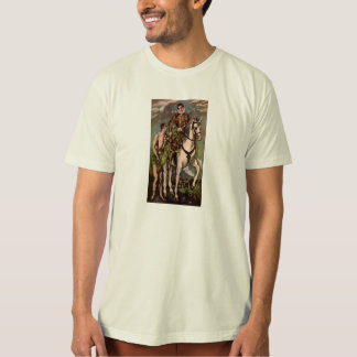 T-shirt St Martin et le mendiant d'El Greco, circa 1600
