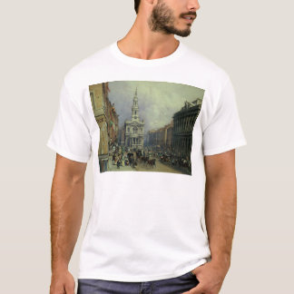 T-shirt St Mary le Strand, 1836