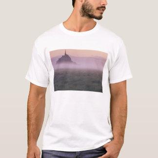 T-shirt St Michel de la FRANCE, Normandie Mont. Brume de