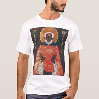 T-shirt St Moïse d'icône le noir