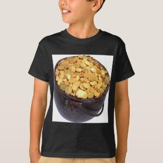 T-shirt St Patrick et - pot d'or