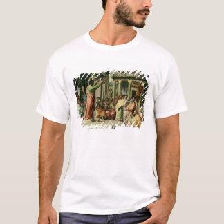 T-shirt St Paul prêchant à Athènes (bande dessinée pour le