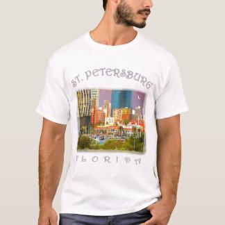 T-shirt St Petersburg la nuit