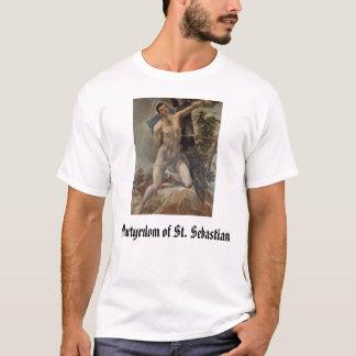 T-shirt St SebastiAn, martyre de St SebastiAn