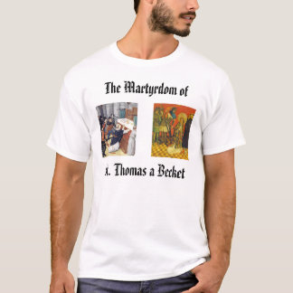 T-shirt St Thomas Becket, thomasbecketmartyrdom250,…