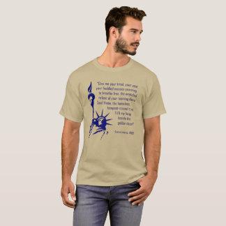 T-shirt Statue de l'inscription de liberté