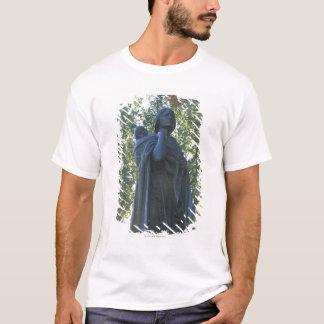 T-shirt 'Statue de Sacagawea et son fils, guide sur