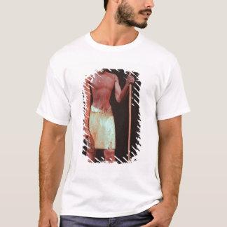 T-shirt Statue de Sesostris I avec une couronne blanche