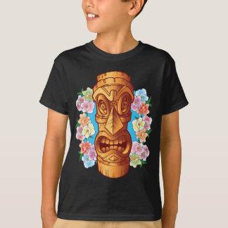 T-shirt Statue de Tiki de bande dessinée