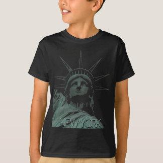 T-shirt Statue des souvenirs de chemise de New York de
