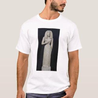 T-shirt Statue femelle, connue sous le nom de déesse