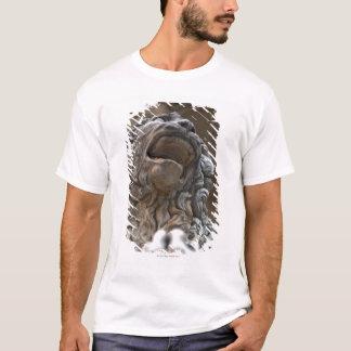T-shirt statue Florence Italie de lion