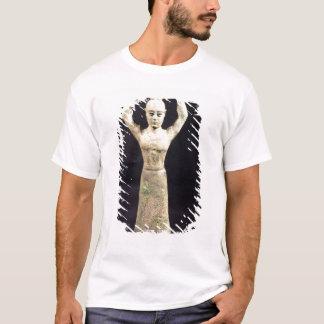 T-shirt Statuette de porteur de offre avec votif