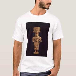 T-shirt Statuette femelle sur un socle, necr de DES Molins