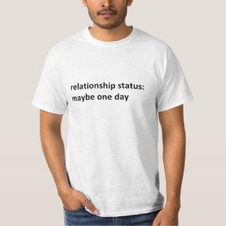 T-shirt Statut de rapport : Peut-être un jour