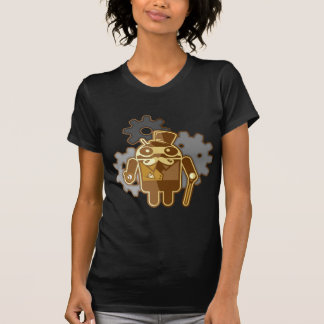 T-shirt Steampunk Android