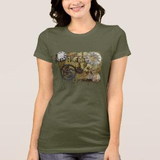 T-shirt Steampunk grunge