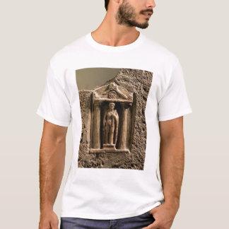 T-shirt Stele votif de marbre et de grès avec le figu