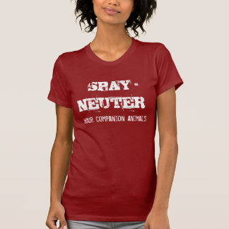 T-shirt Stériliser-Neutre