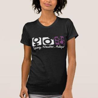 T-shirt Stérilisez, changez, adoptez