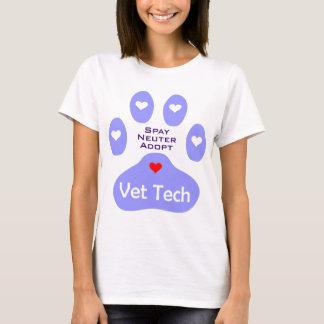 T-shirt Stérilisez, changez, adoptez la technologie de