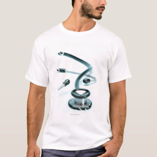 T-shirt Stéthoscope