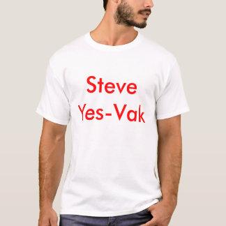 T-shirt Steve Yes-Vak