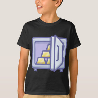T-shirt Stockage d'or