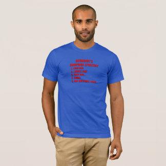 T-shirt Stratégie de la campagne de Démocrate - MBL-1