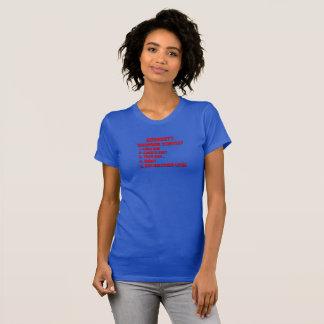 T-shirt Stratégie de la campagne de Démocrate - W BL-1