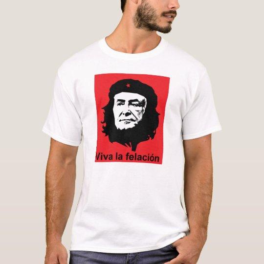 """T-shirt strauss kahn """"viva la felacion"""""""