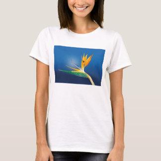 T-shirt Strelitzia. Oiseau de fleur de paradis
