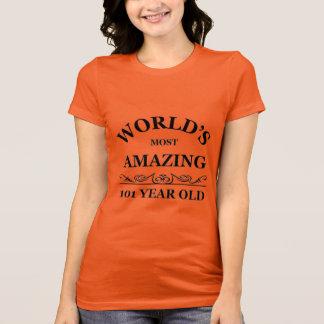 T-shirt Stupéfier 101 ans