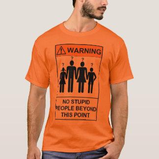 T-shirt stupide