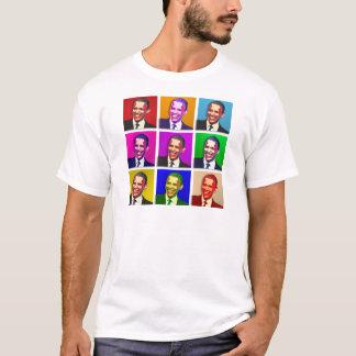 T-shirt Style d'art de bruit d'Obama