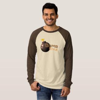 T-shirt Style de bombe