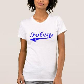 T-shirt Style de classique de nom de famille de Foley
