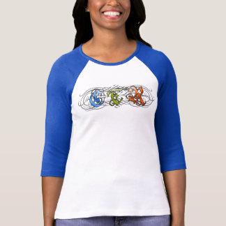T-shirt Style de Flourish de CTR - D1