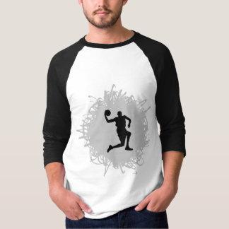 T-shirt Style de griffonnage de basket-ball