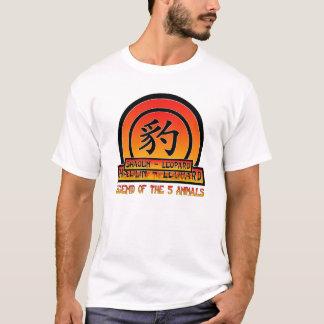 T-shirt style de léopard