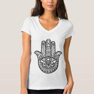 T-shirt Style de Mehndi de henné d'oeil mauvais de main de